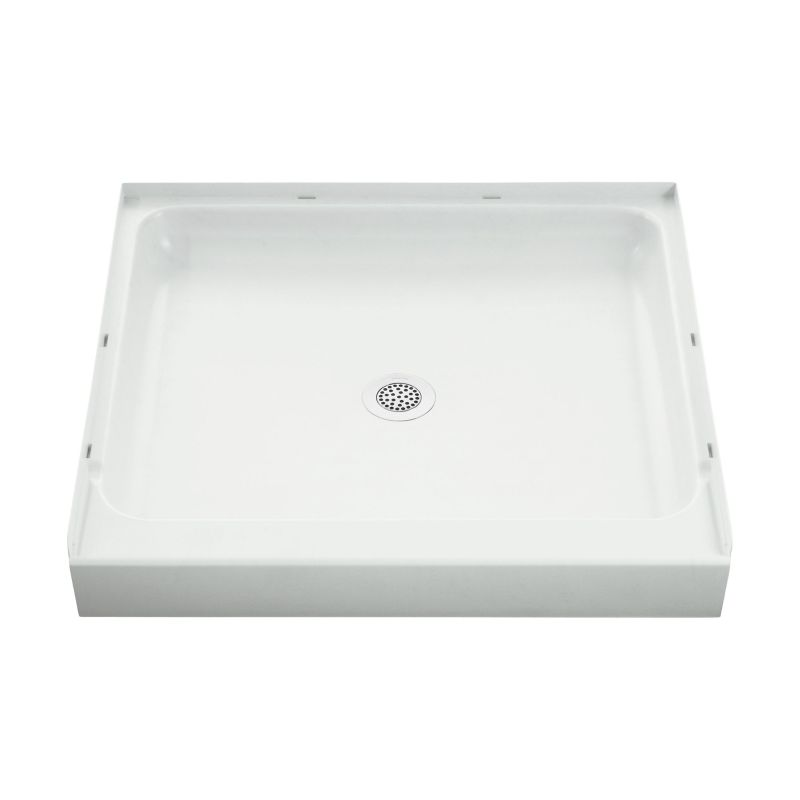 Sterling Ensemble Vikrell 36-In X 34-In Shower Base With Center Drain
