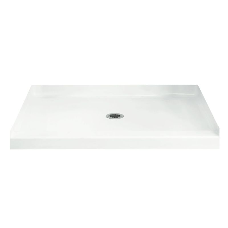 Sterling Accord Vikrell 60-In X 36-In Shower Base With Center Drain