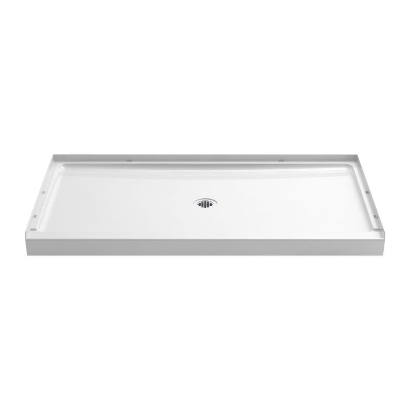 Sterling Guard+ Vikrell 60-In X 34-In Shower Base With Center Drain