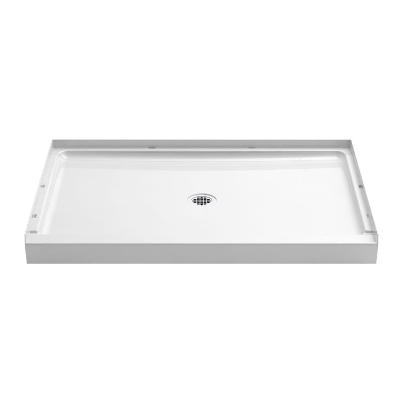 Sterling Guard+ Vikrell 48-In X 34-In Shower Base With Center Drain