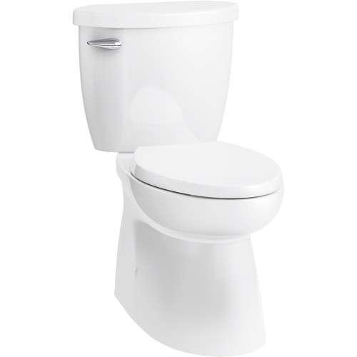 Sterling Brella Elongated Comfort-Height Skirted 2-Piece Toilet with Brevia Toilet Seat and ReadyLock