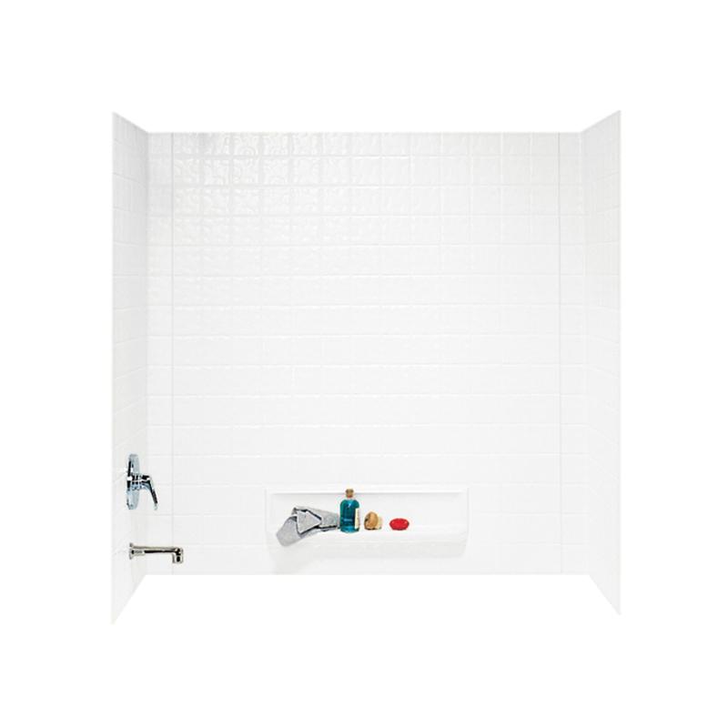 Swan Veritek 30-in x 60-in x 60-in Bathtub Wall Kit
