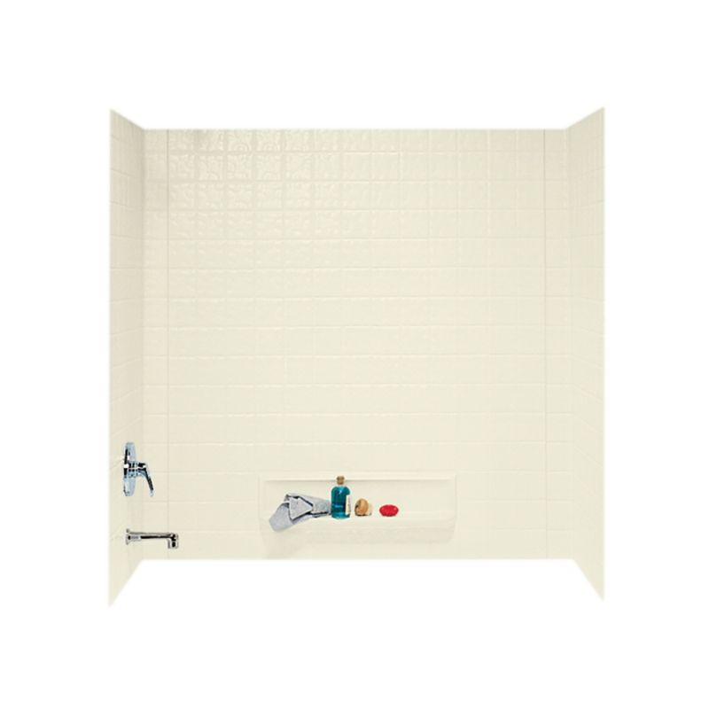 Swan Veritek 30-in x 60-in x 60-in Bathtub Wall Kit