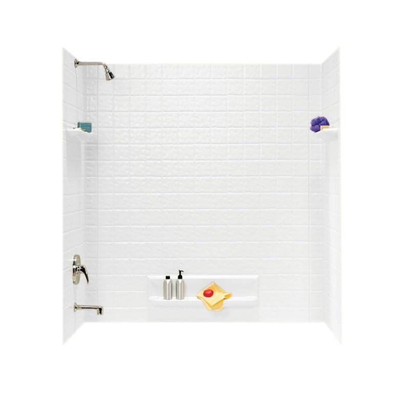 Swan Veritek 32-in x 60-in x 60-in Bathtub Wall Kit