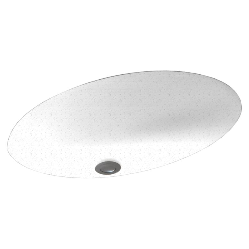 Swan Solid Surface 22.5-in Bathroom Sink