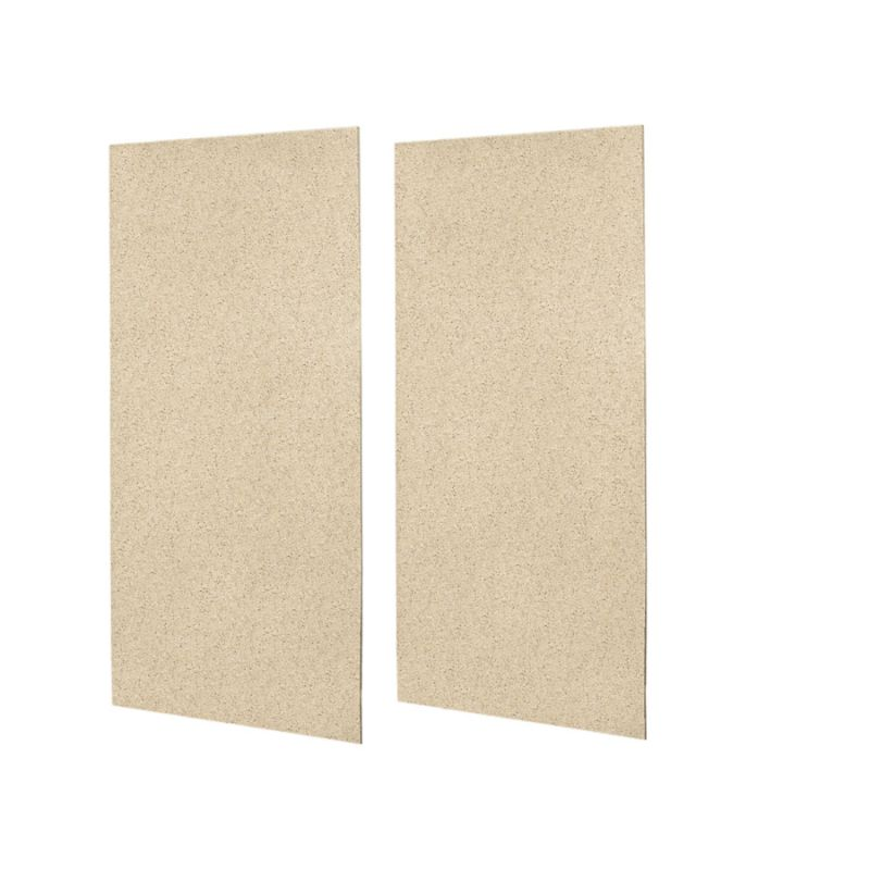 Swan Solid Surface 48-in x 96-in Shower Wall Panel