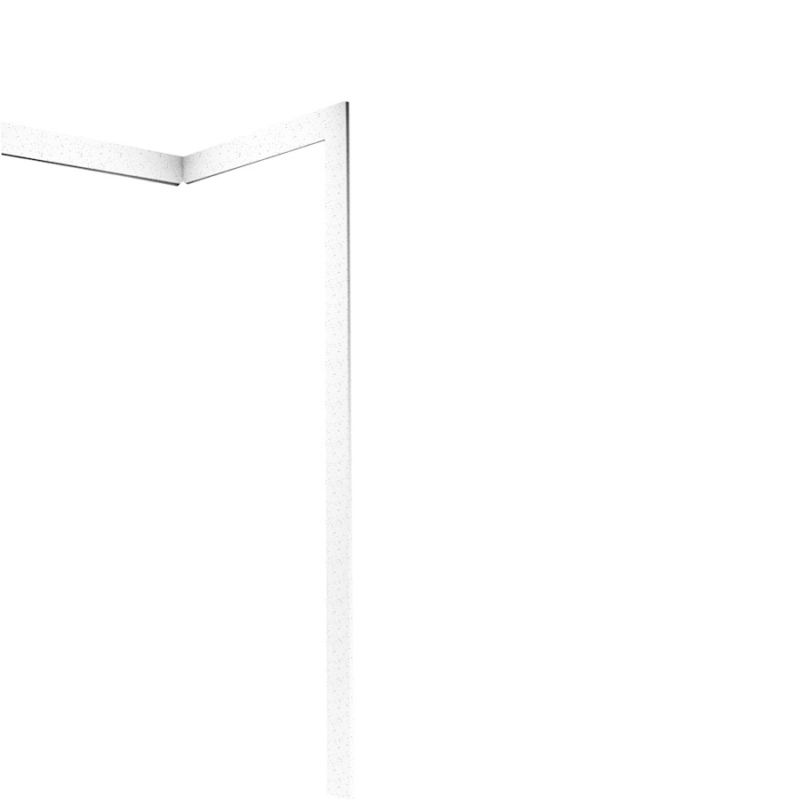 Swan Solid Surface 3.875-in x 105-in Trim Kit