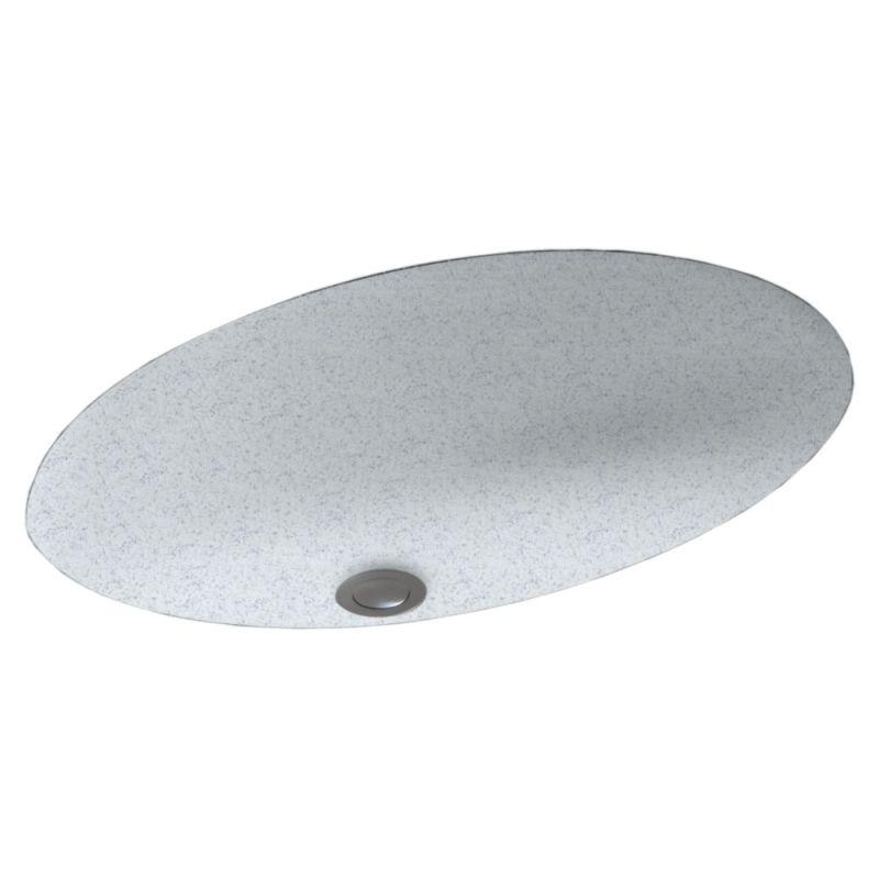 Swan Solid Surface 22.5-in Bathroom Sink