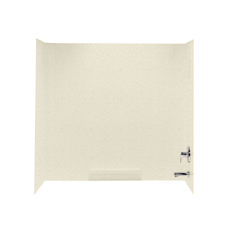 Swan Veritek 60-in x 30-in x 58-in Veritek Bathtub Wall Kit