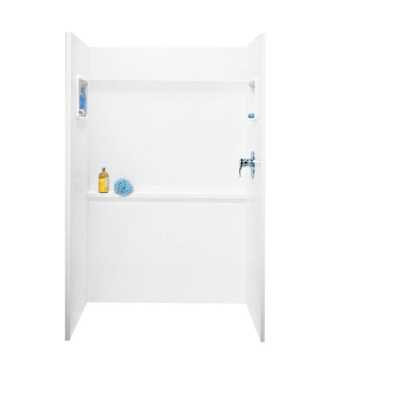 Swan Veritek 48-in x 34-in Shower Wall Surround