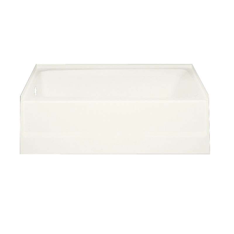 Swan Veritek 60-in Left Drain Skirted Tub