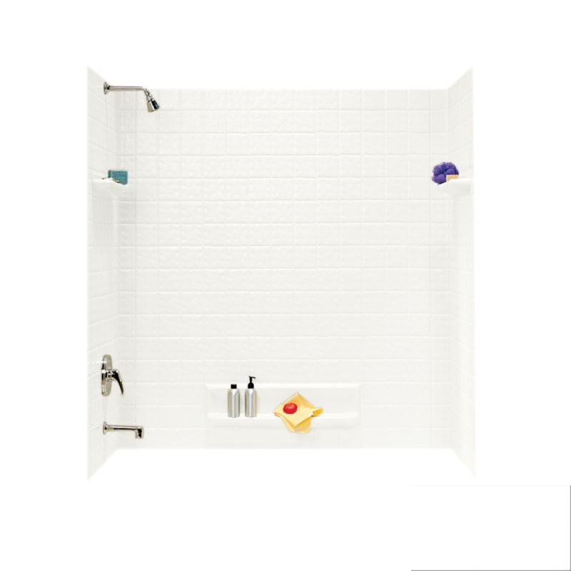 Swan Veritek 32-in x 60-in x 60-in Bathtub Wall Kit