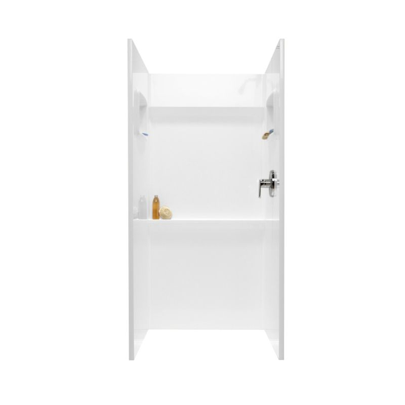 Swan Veritek 36-in x 36-in Shower Wall Surround