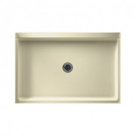Swan Solid Surface 48-in x 32-in Shower Base with Center Drain