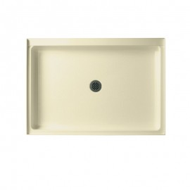 Swan Solid Surface 48-in x 34-in Shower Base with Center Drain