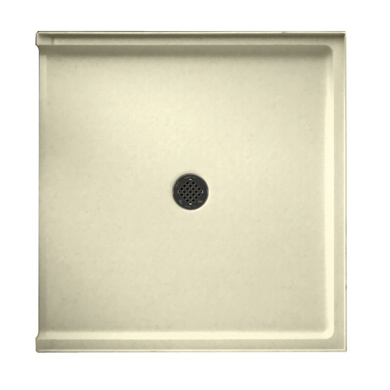 Swan Veritek 37-in x 38-in Shower Base with Center Drain