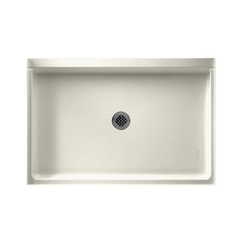 Swan Veritek 48-in x 32-in Shower Base with Center Drain