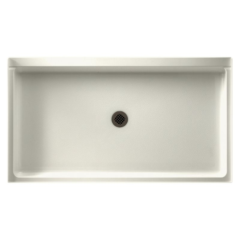 Swan Veritek 60-in x 32-in Shower Base with Center Drain