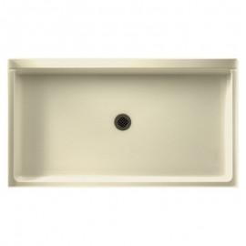 Swan Veritek 60-in x 32-in Shower Base with Center Drain