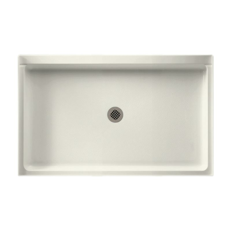 Swan Veritek 54-in x 34-in Shower Base with Center Drain