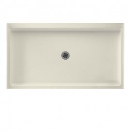 Swan Veritek 60-in x 34-in Shower Base with Center Drain