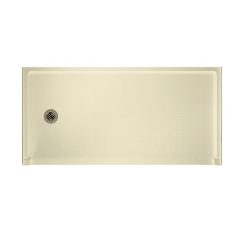 Swan Veritek 60-in x 30-in Shower Base with Left Drain