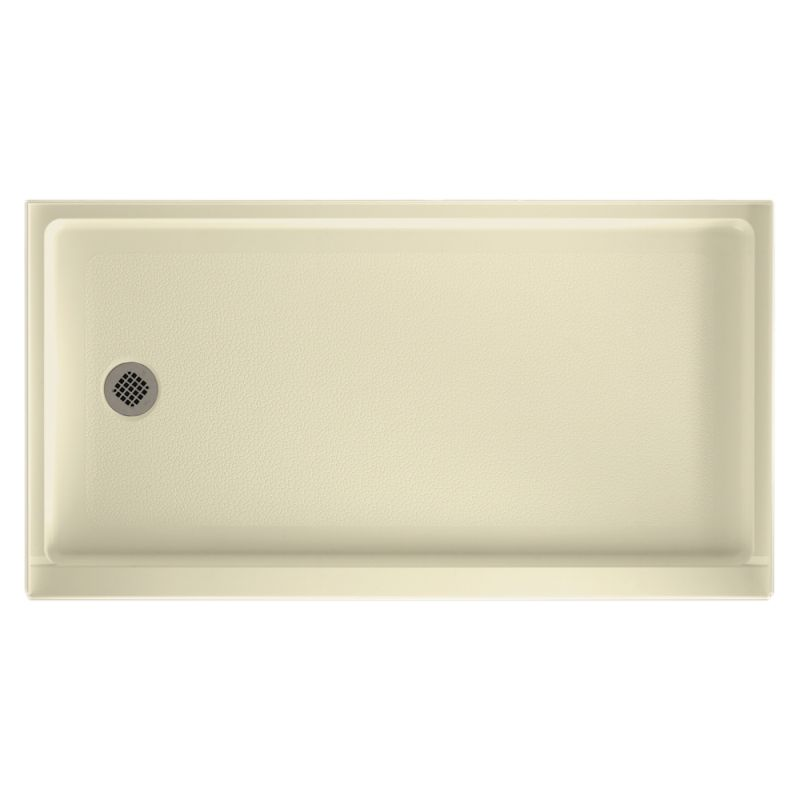 Swan Veritek 60-in x 32-in Shower Base with Left Drain
