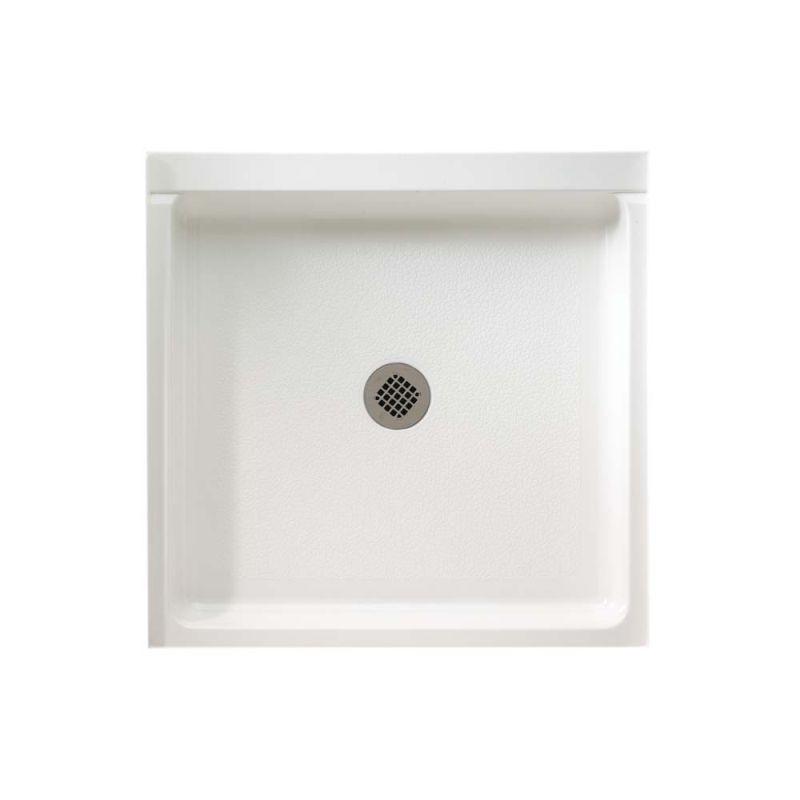 Swan Veritek 36-in x 36-in Double Threshold Shower Base with Center Drain