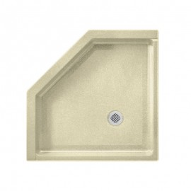 Swan Veritek 38 x 38 Neo-Angle Shower Base with Center Drain