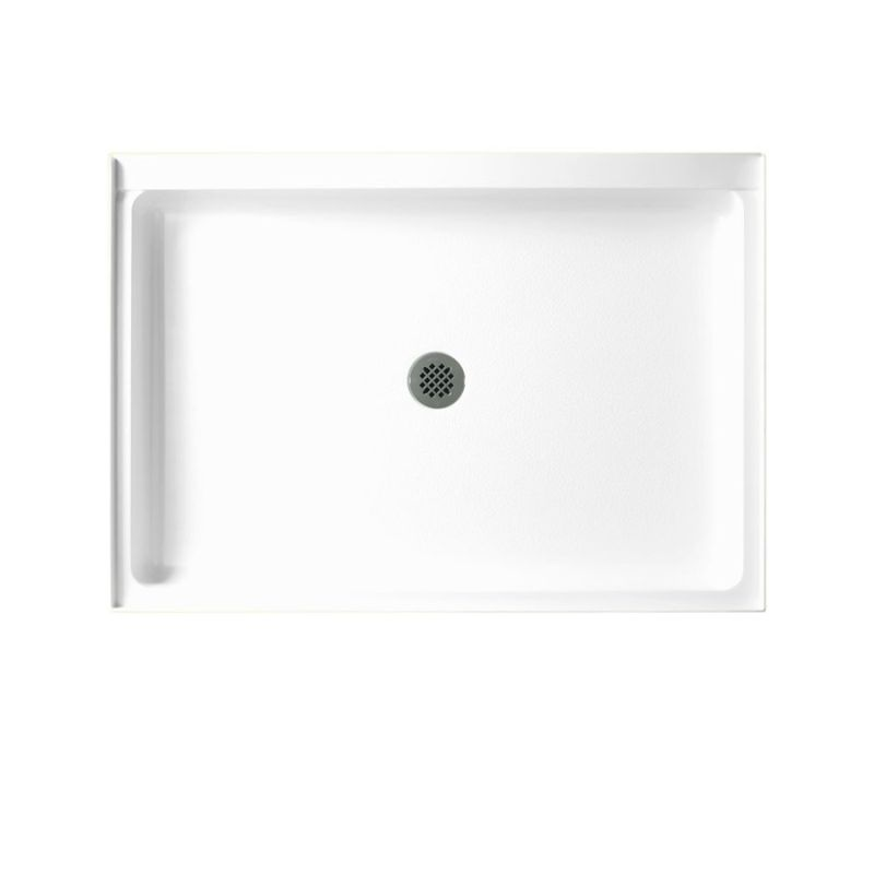 Swan Veritek 48-in x 34-in Shower Base with Center Drain