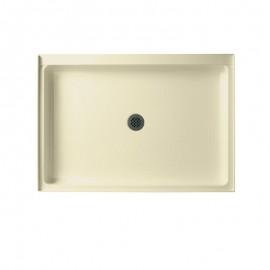 Swan Veritek 48-in x 34-in Shower Base with Center Drain