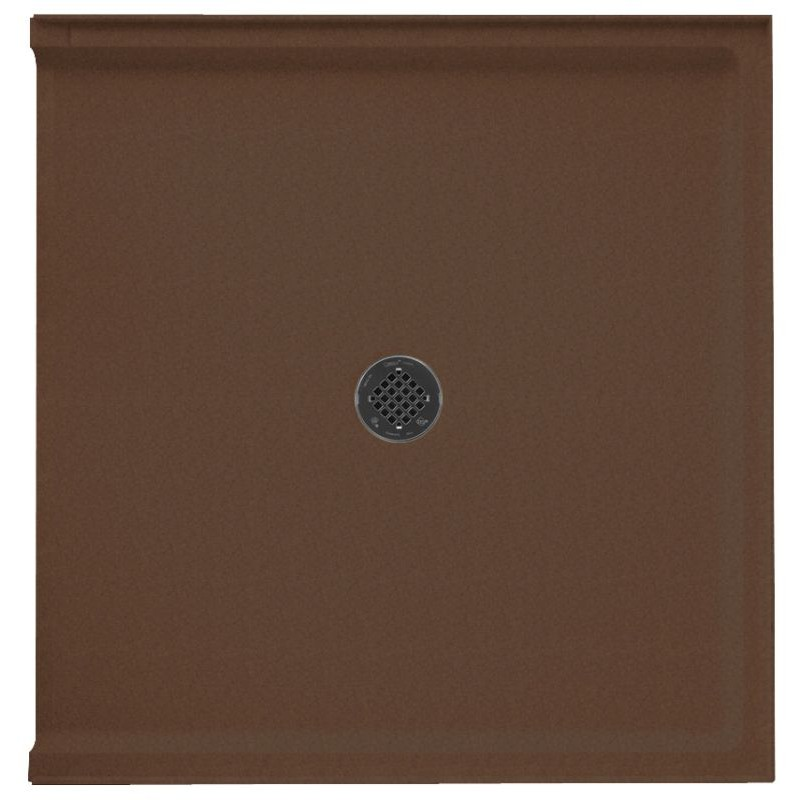Buy Swan Solid Surface 38-in x 37-in Transfer Shower Base with ...