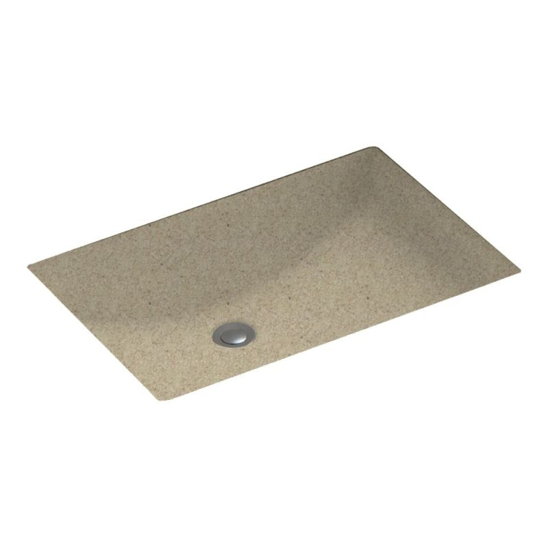 Swan Solid Surface 22-in Bathroom Sink