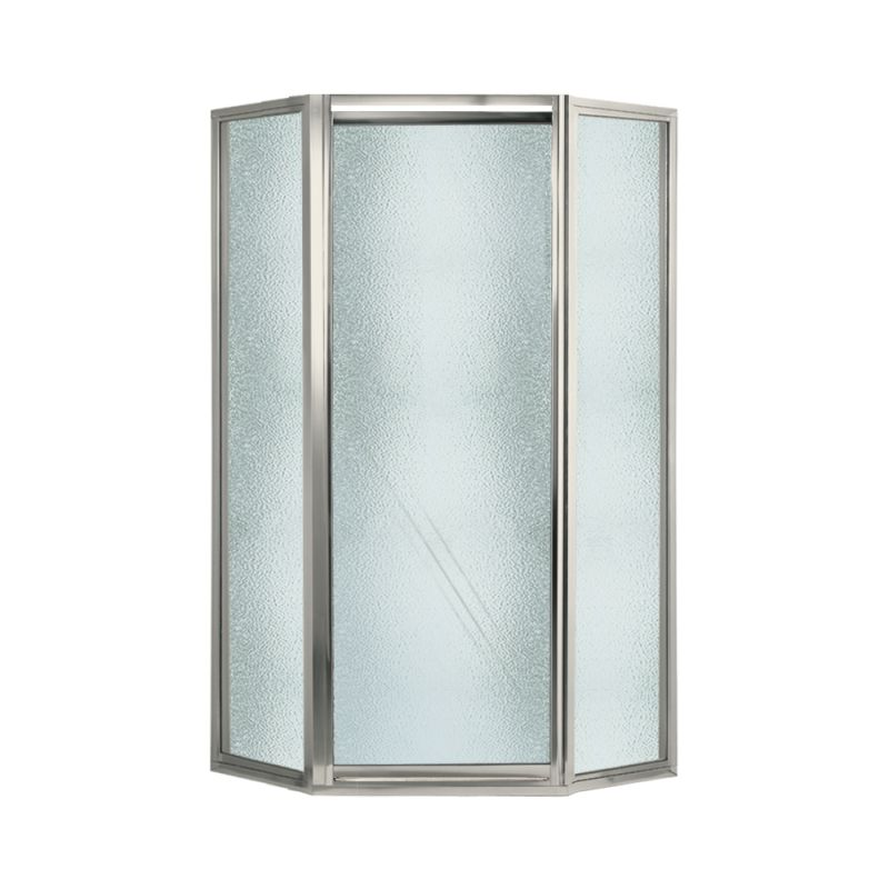 Buy Swan 38-in x 36-in x 70-in Neo-Angle Shower Door with Obscure ...