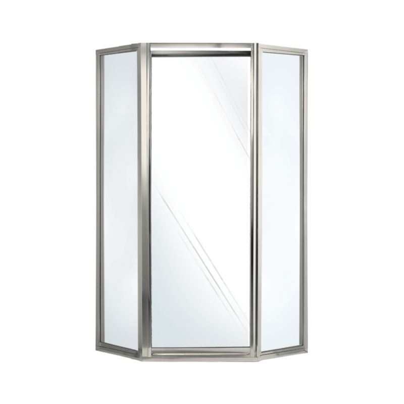 Buy Swan 36-in x 36-in x 70-in Neo-Angle Shower Door with Clear ...
