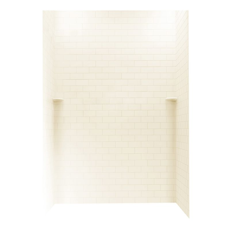 Swan Solid Surface 36-in x 62-in x 96-in Shower Wall Kit