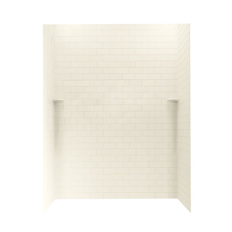 Swan Solid Surface 36-in x 62-in x 72-in Shower Wall Kit