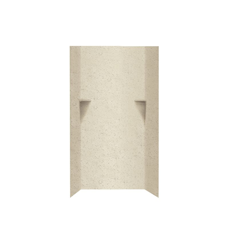 Swan Solid Surface 36-in x 72-in Shower Wall Kit