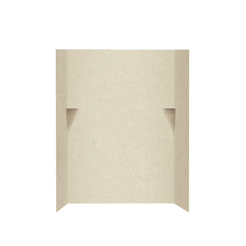 Swan Solid Surface 48-in x 72-in Shower Wall Kit