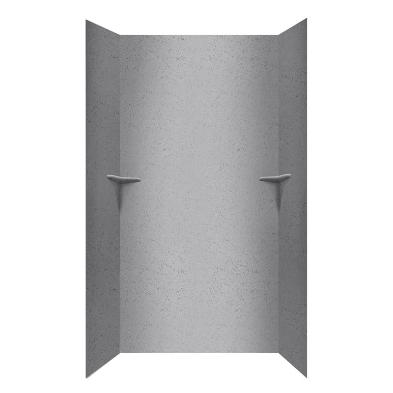 Swan Solid Surface 48-in x 96-in Shower Wall Kit