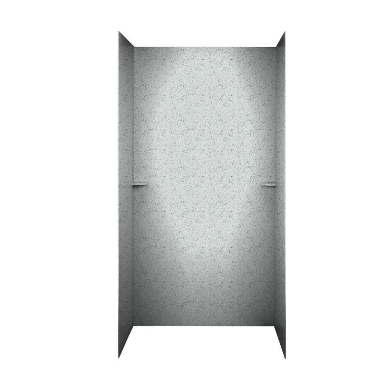Swan Solid Surface 36-in x 48-in x 72-in Shower Wall Surround