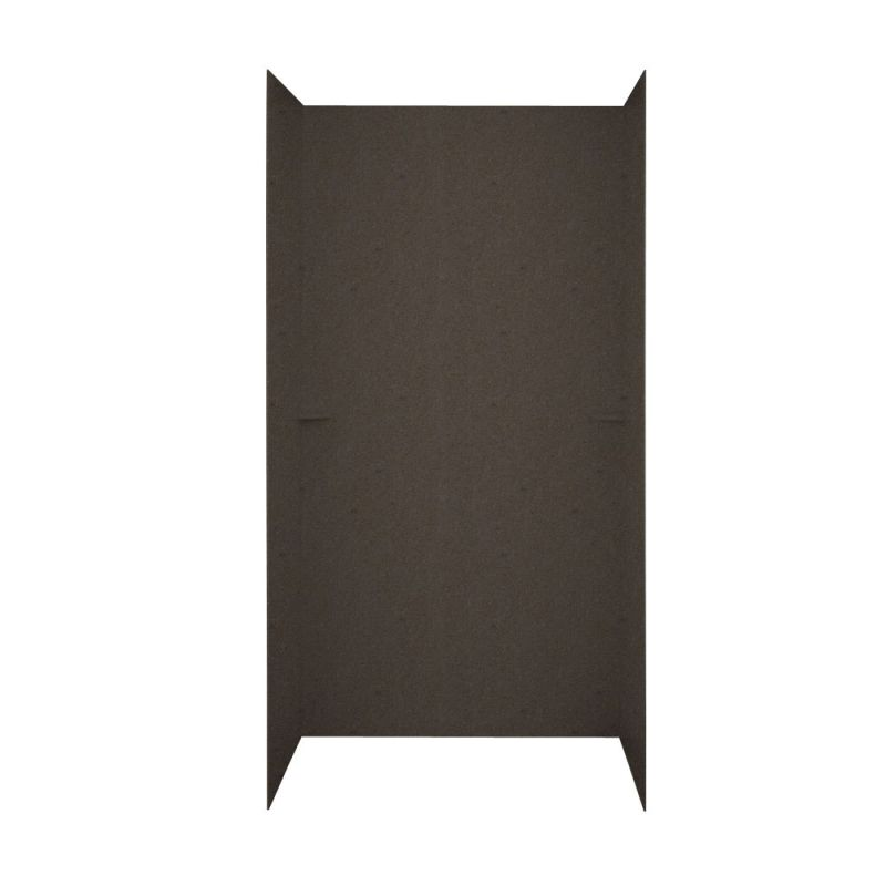 Swan Solid Surface 36-in x 60-in x 72-in Shower Wall Surround