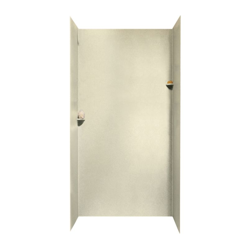 Swan Solid Surface 36-in x 48-in x 96-in Shower Wall Surround