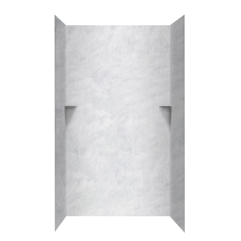 Swan Solid Surface 36 In X 48 96 Shower Wall