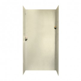Swan Solid Surface 48-in x 48-in x 96-in Shower Wall Surround