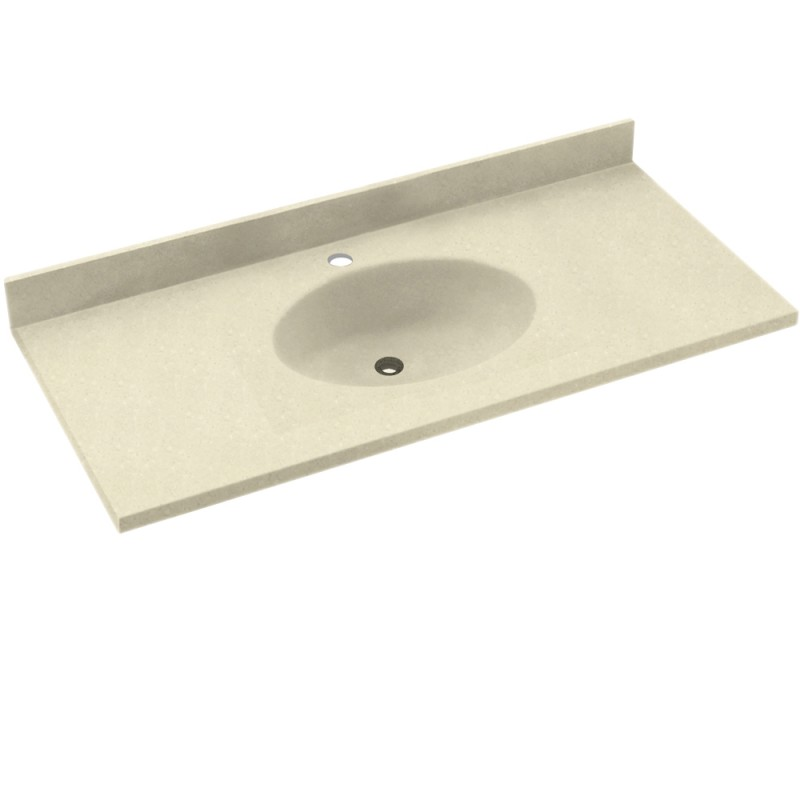 Swan Chesapeake Solid Surface 37-in x 22-in Vanity Top