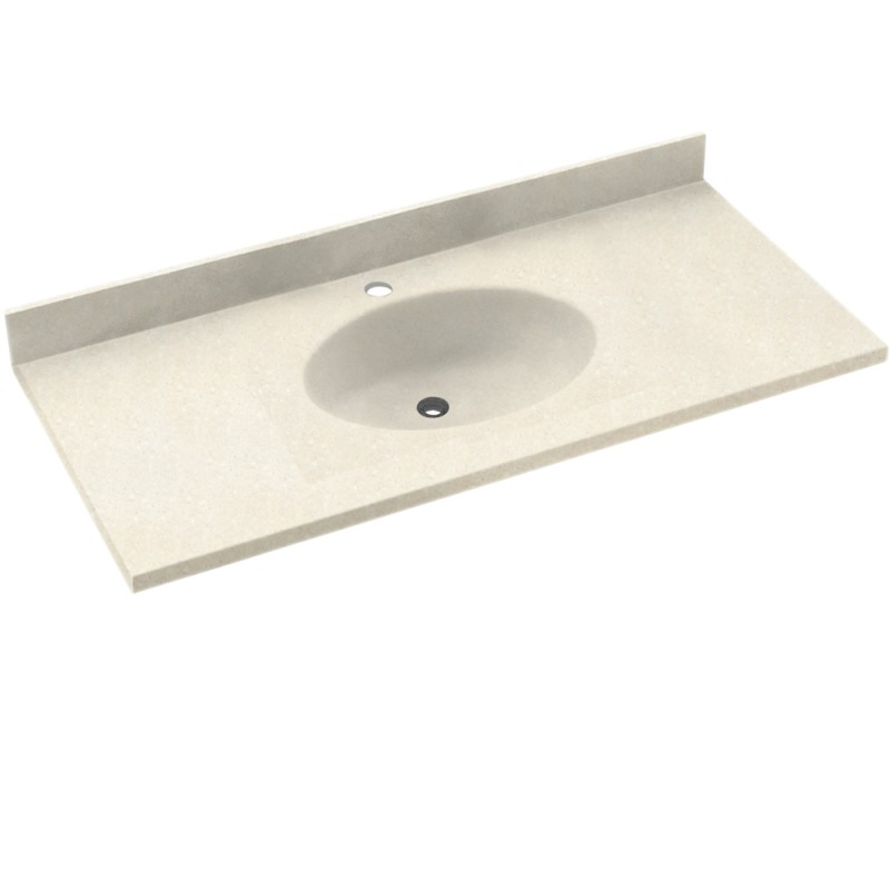 Swan Chesapeake Solid Surface 61-in x 22-in CH1B2261RO-072