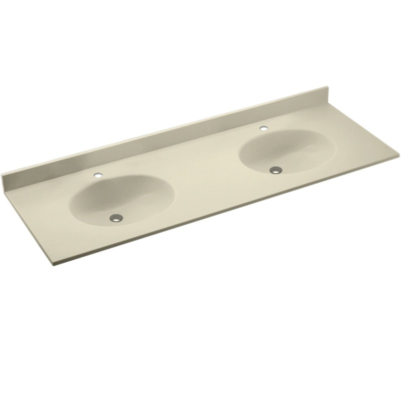 Swan Chesapeake Solid Surface 73-in x 22-in CH2B2273-037