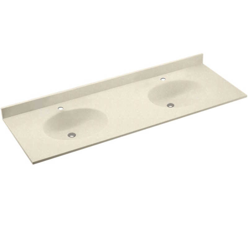 Swan Chesapeake Solid Surface 73-in x 22-in CH2B2273-072
