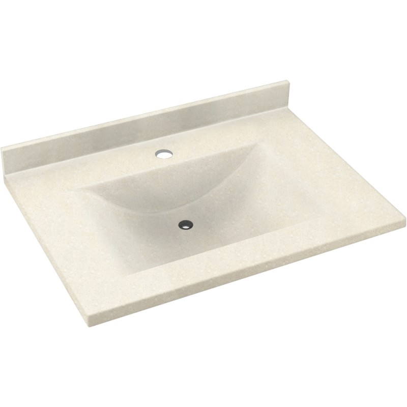 Swan Contour Solid Surface 37-in x 22-in CV-2237-072